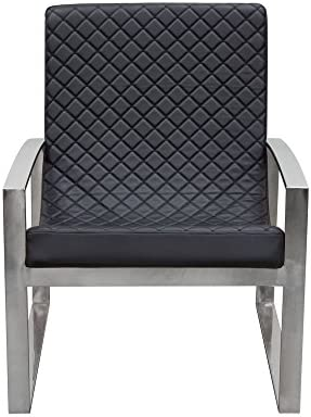 Amazon.com: Diamond Sofa Aristocrat Accent Chair in Black ...