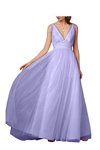 Missdressy - Vestido - trapecio - para mujer Lavanda