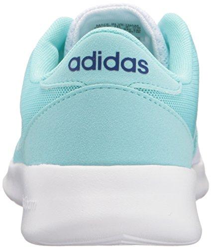 Adidas Donna Cloudfoam Qt Racer W Scarpa Da Corsa Bianco / Bianco / Unità Inchiostro