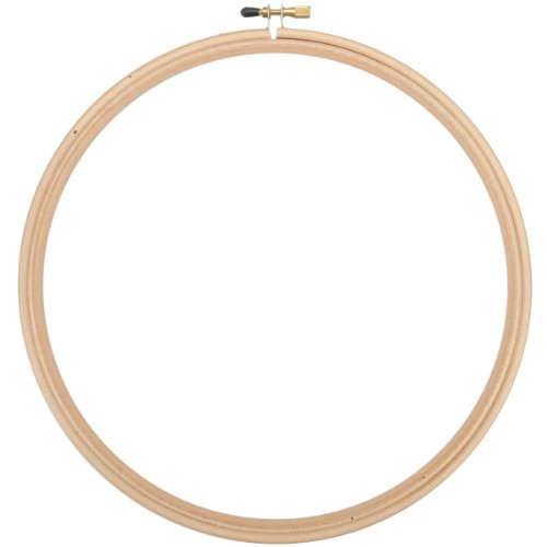 Edmunds Wood Embroidery Hoop with Round Edges, 12-Inch (Edmunds Wood Embroidery Hoop compare prices)