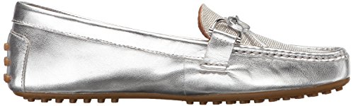 Briley Lauren Ralph Driving Style Ii Lauren Women's Loafer Rl Silver Silver qFAtwrF4