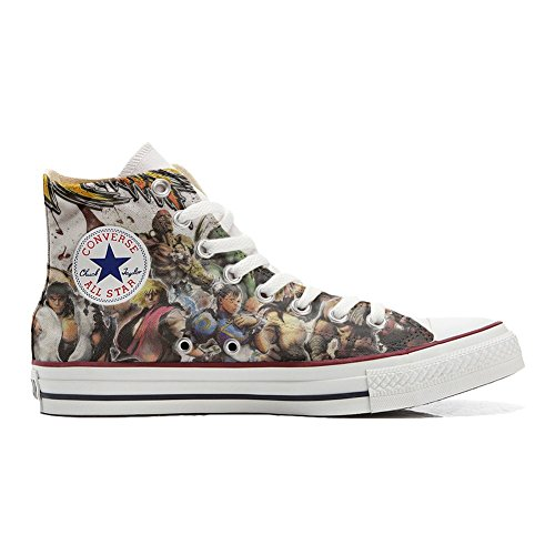 Schuhe The Hi Converse All Customized Star fighters personalisierte Schuhe Handwerk qHw1ZXAw