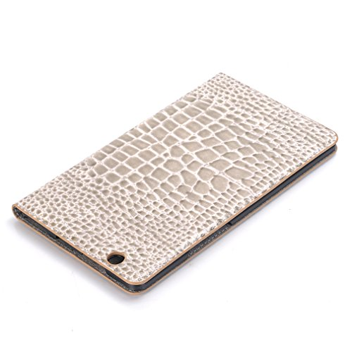 Magnetic Case Stent for Leather Ultra Auto Bookstyle Sleep and Design Folding of Splice Closure PU Card 8 Cover Inch 4 Business Function Thin M3 Leather LMFULM Mediapad Huawei White Function Slot Wake q75dqC