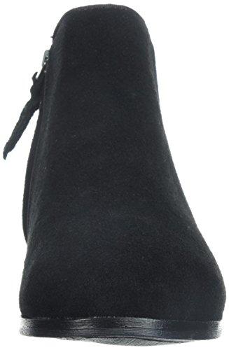 2W 0 US Flat Loafer Women's Suede SoftWalk Black Suede Black Rocklin 8 S48x70