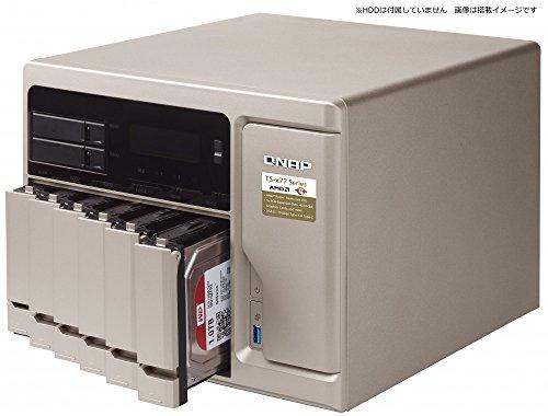 Qnap TS-877-1700-16G-US High-Performance 8 bay (6+2) NAS/iSCSI IP-SAN. AMD Ryzen 7 1700 8-core 3.0GHz, 16GB RAM, 10G-ready by QNAP (Image #3)
