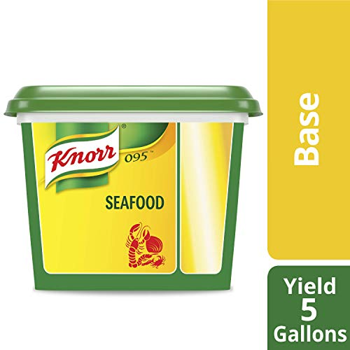 Knorr Professional 095 Seafood Stock Base No added MSG, 0g Trans Fat, 1 lb, Pack of 6