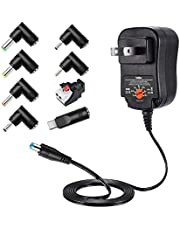 Belker 12W Universal 3V 4.5V 5V 6V 7.5V 9V 12V AC DC Adapter Power Supply for Household Electronics Smartphone Mp3 Routers TV Boxes LCD Tablets CCTV Cameras Max. 1000mA