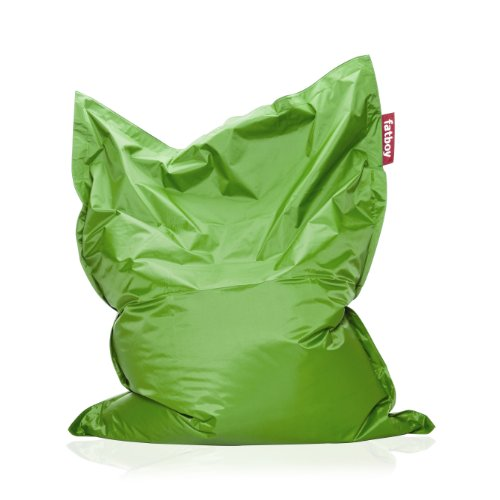 amazon the original bean bag grass green kitchen dining fatboy chair review junior beanbag sale