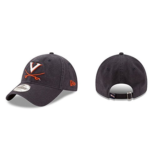 Virginia Cavaliers Campus Classic Adjustable Hat - Navy , One Size