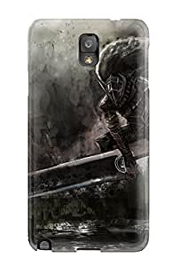 Rugged Skin Case Cover For Galaxy Note 3- Eco-friendly Packaging(berserk)