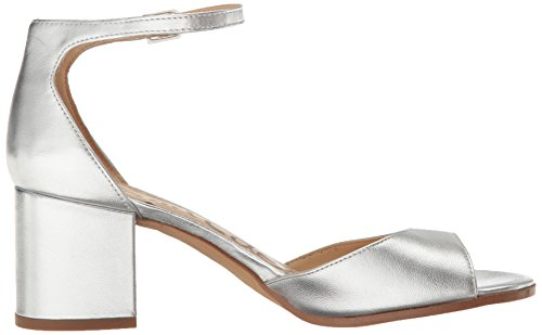 free shipping brand new unisex get authentic online Sam Edelman Women's Susie Heeled Sandal Bright Silver/Metallic Leather VzbUxH