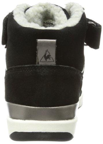 Le coq Sportif Diamond Elance Mid - Altas de cuero mujer negro - negro