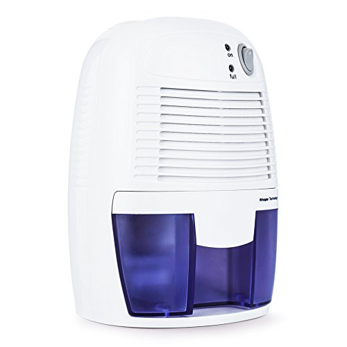hysure Portable Mini Dehumidifier, Deshumidificador, Bathroom Dehumidifier Electric for Bedroom, Baby Room, Home, Crawl Space, RV, White … Review