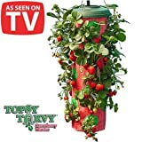 New As Seen On TV Topsy Turvy Strawberry Planter Grow Strawberries Vegetables Eliminates Weeding