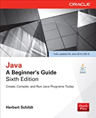 Essential Java Programming Skills--Made Easy!       Fully updated for Java Platform, Standard Edition 8 (Java SE 8), Java: A Beginner's Guide, Sixth Edition gets you started programming in Java right away. Bestselling programming autho...