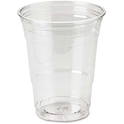 Dixie CP16DXPK Cold Drink Cups, 16 oz, 25/PK, Clear Plastic