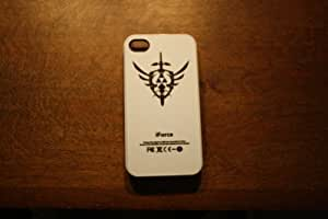 (198wi4) The Legend of Zelda iForce Water Temple Apple iPhone 4 / 4s White Case