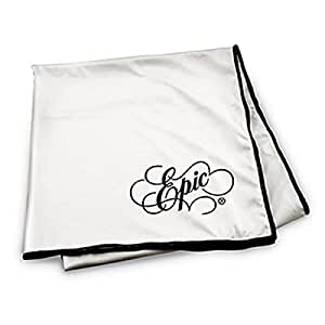 39 Inch Epic Microfiber Glass Drying Cloth, Cream Colored