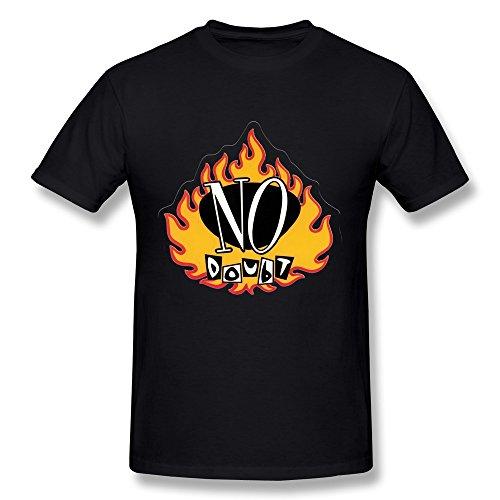 No Doubt Logo Tee Shirt For Mens L (Street Fighter Calendar)