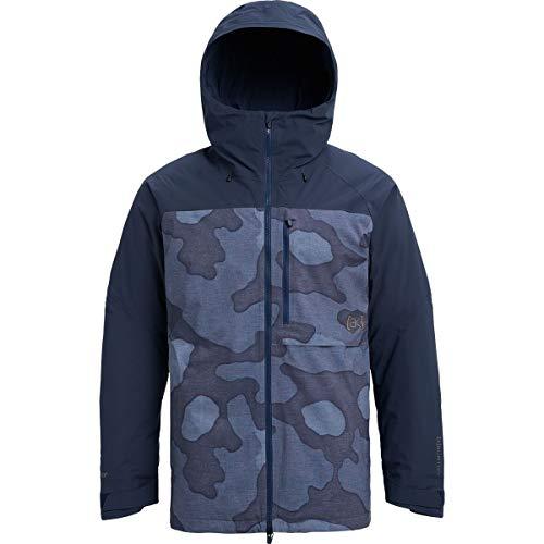 Burton AK Helitack Insulated Jacket - Men's Artic Camo/Mood Indigo, XL Burton 2l Gore Tex Jacket