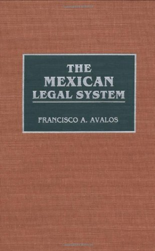 Download The Mexican Legal System (Reference Guides to National Legal Systems) Pdf