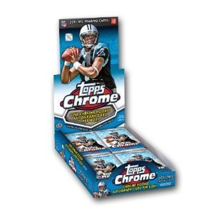2011 Topps Chrome NFL Football HOBBY box (Football Card Box 2011 compare prices)
