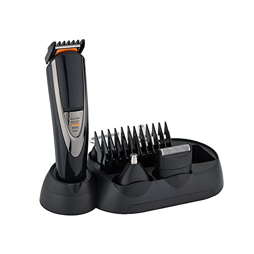 Paladou Mens beard trimmer kit, Electric Cordless Hair Clippers, Professional Mustache Razor &Body Shaver For Men Sideburn Personal Grooming Multi-functional Waterproof LED Rechargeable Best Gift Set