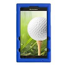 Bobj for Lenovo Tab 2 A7-20, Tab 2 A7-10 - BobjGear Protective Tablet Cover (Batfish Blue)