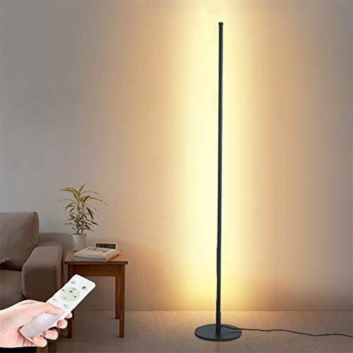 Staande Lamp LED 20W Vloerlamp Dimbare Staande Lampen met Afstandsbediening Schijnwerper met Voetschakelaar en Netsnoer…