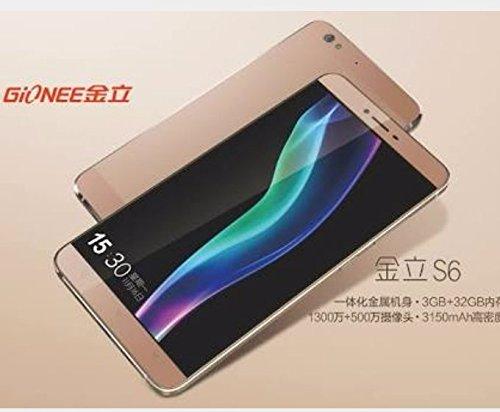 766e5427ae9 Gionee s6 Smartphone (Gold)  Amazon.in  Electronics