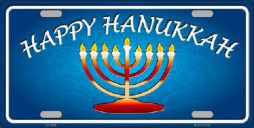 Hanukkah Novelty Metal License Plate for $<!--$9.51-->