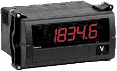 4-1/2 Digits, Digital LED, Temperature Meter, Panel Meter, 50/60 Hz, 120 VAC, Red (Digital Simpson Panel Meter)