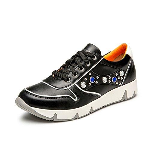 Zapatos de otoño/Deportes y ocio calzan a las mujeres/Ola coreana Junta zapatos de las mujeres/Calzado transpirable A