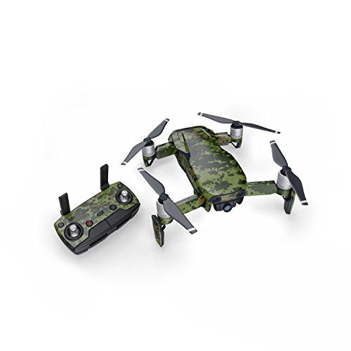 CAD Camo 51 Piece Decal Kit for DJI Mavic Air Drone - Includes Drone Skin, Controller Skin and 3 Battery ()