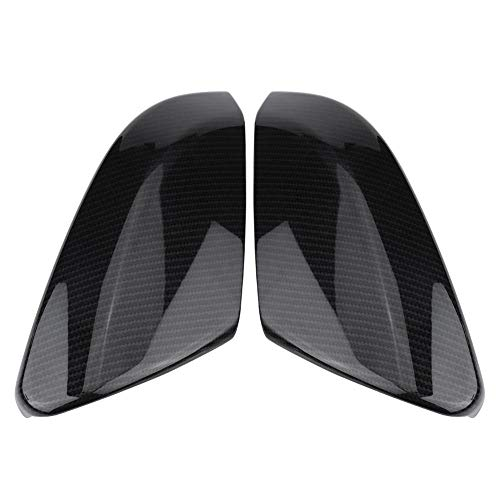 Rearview Mirror Cover, Cuque 2 Pcs Rear View Mirror Housing Cap Carbon Fiber Style Side Mirror Trim ABS Plastic Exterior Mirror Protector for Honda Civic Sedan Coupe 2016 2017 2018 Hatchback 2017-2018