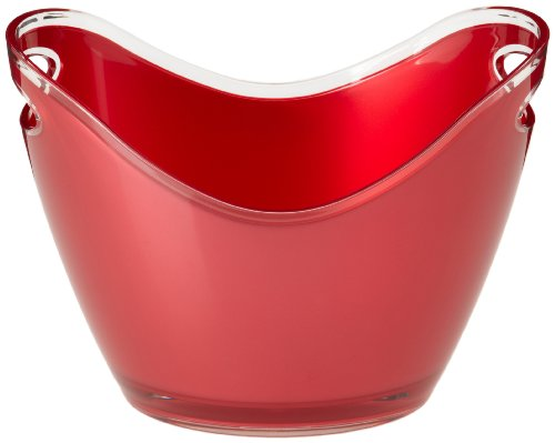 Prodyne G-2-R Two Bottle Bucket, Red