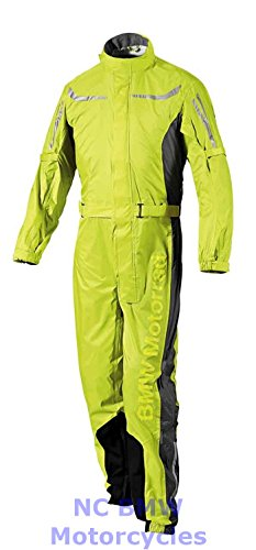 BMW Genuine Motorcycle Unisex ProRain Rain Overall Riding Unisex Suit Yellow 2XL by BMW
