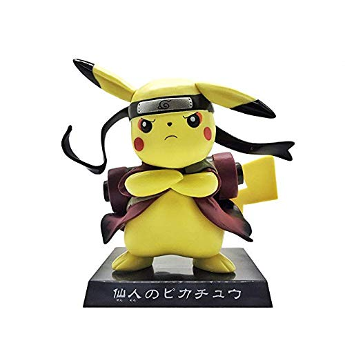 Naruto Action Figures Pikachu Sennin Modo PVC 150mm