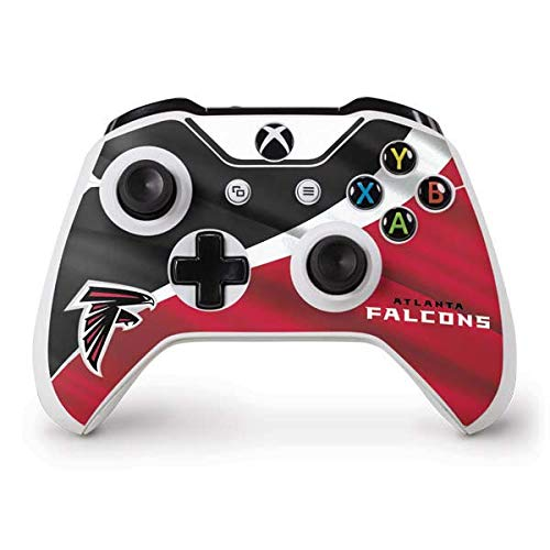 Skinit Atlanta Falcons Xbox One S Controller Skin - Officially Licensed NFL Gaming Decal - Ultra Thin, Lightweight Vinyl Decal Protection
