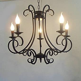 Bougie Caractéristique Lustre 5 Lumière Artistique Classique