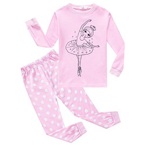 Baywell Baby Girl's Pajamas, Kids Cartoon Air-Conditioning Clothes Pajamas -