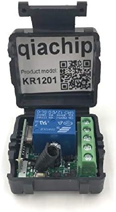 Drahtloser DC12V 433MHz Fernbedienungsschalter 4 Kanal Relaisempfänger Set Nr.