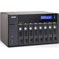 QNAP TVS-871-I5-8G-US 8-Bay I5 3.0GHZ 4LAN 10G-Ready 8GB DDR3 Max 12GB 4XGBE LAN 10GBE