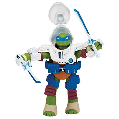 TMNT Mutant Turtles 2015 Nickelodeon series dimension X 4.5 inch Basic Figure space captain Leonardo / TEENAGE MUTANT NINJA TURTLES DIMENSION X SPACE CAPTAIN LEONARDO [parallel import goods]