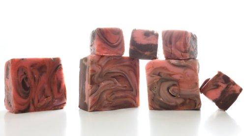 Oh Fudge - Chocolate Amaretto (cherry) Fudge 1 Pound - The Oh Fudge Co. secret fudge recipe - rich, pure, creamy, and delicious chocolate amaretto fudge - compared to Mo's Fudge Factor