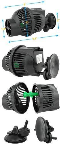 Best Choice Products SunSun JVP-102 1300 GPH Wavemaker, 2-Pack