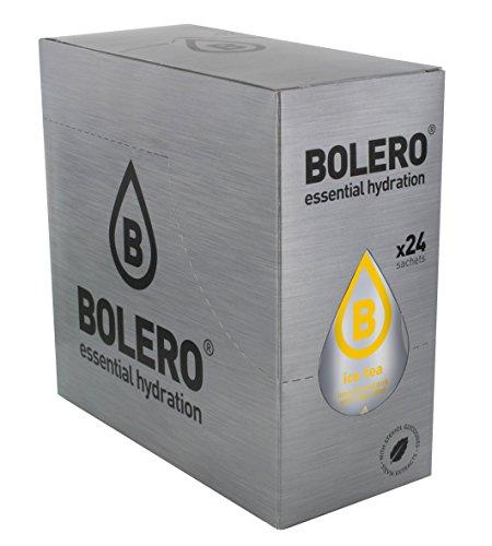 Bolero Bebida Instantanea sin Azucar, Sabor Te Limon - Paquete de 24 x 8 gr - Total 192 gr