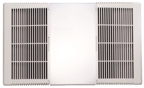 NuTone Heater, Fan, and Light Combo for Bathroom and Home, 4.0 Sones, 1300-Watts Heater, 100-Watts Light, 70 CFM