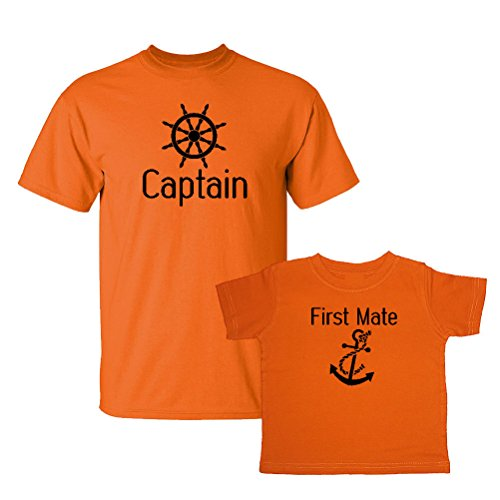 we-match-captain-first-mate-matching-adult-t-shirt-child-t-shirt-set-6m-t-shirt-adult-t-shirt-xl-ora