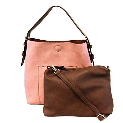 Pink Susan Classic Handle Hobo Coffee Handbag Joy Lemonade qRIHwI